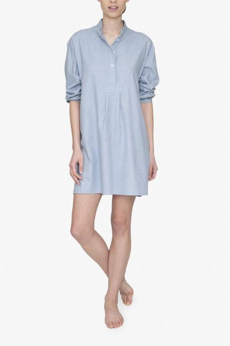 The Sleep Shirt Short Sleep Shirt - Blue Cashmarello