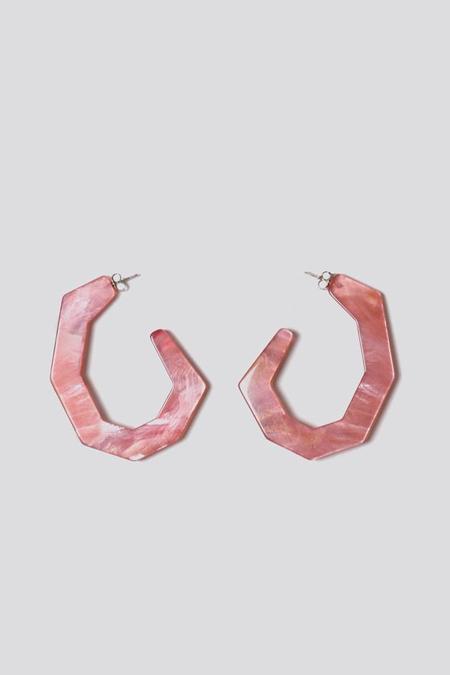 Rachel Comey Factor Earring in Pink