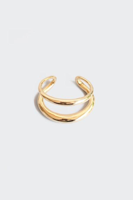 Gabriela Artigas & Company 14K Gold Twin Tusk Cuff
