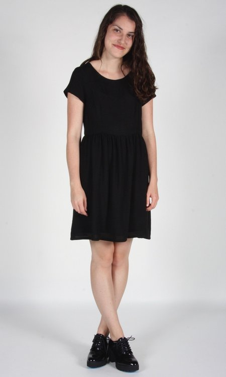 Birds of North America Fruitcrow Dress - Black