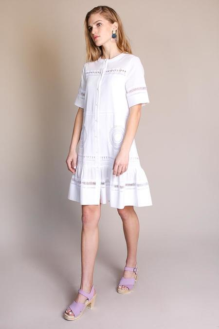 MiH Jeans Kirby Dress - White