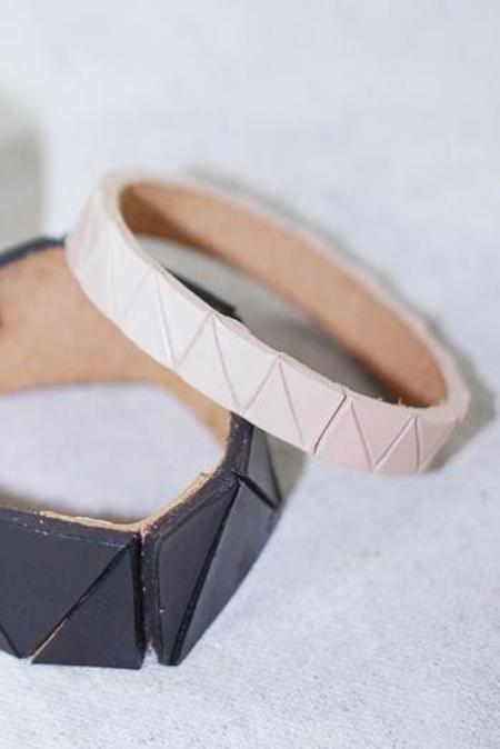 Lauren Manoogian Leather Manoogian Leather Bangle