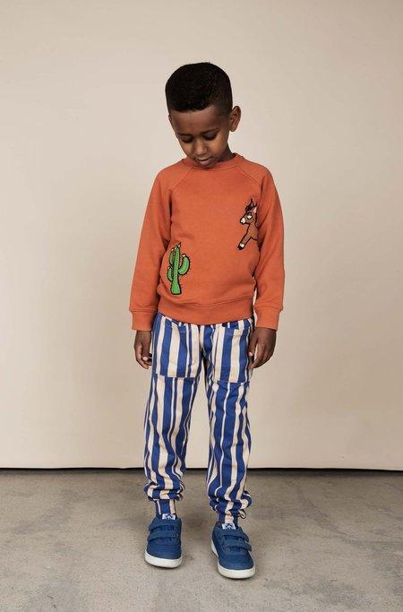 Kids Mini Rodini Odd Stripe Trousers
