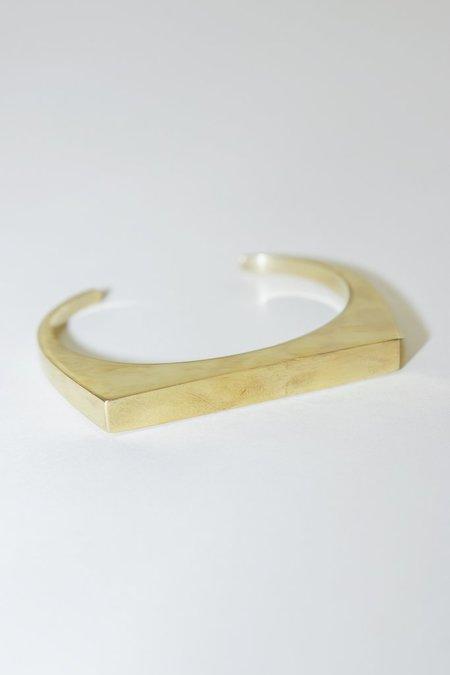 Soko Brass Line Cuff