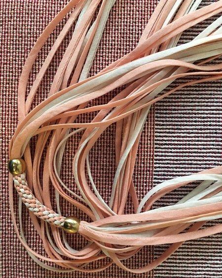Stella Fluorescent Silk Necklaces