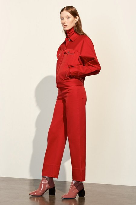 Kowtow Stage Pant in Red
