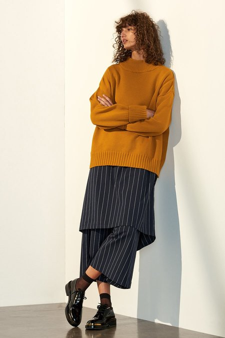 Kowtow Choreography Jumper in Butterscotch