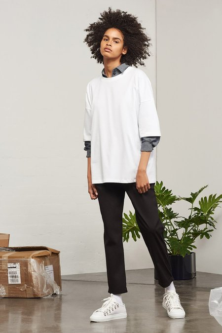 Kowtow Building Block Tall Tee in White
