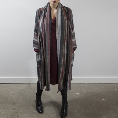 Dagg and Stacey Arwen Coat
