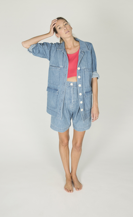 Ilana Kohn Mabel Jacket in Denim