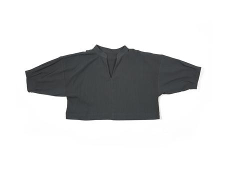 Ilana Kohn Ava Shirt in Coal