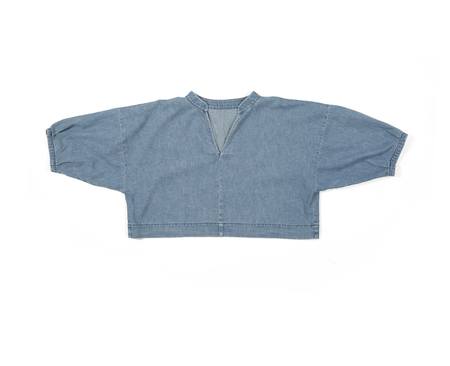 Ilana Kohn Ava Shirt in Denim