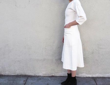 Apiece Apart Fernwood Fit-Flare Dress