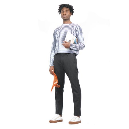 Norse Projects James Logo Stripe - Norse Projects James Logo Stripe - Annodized Blue