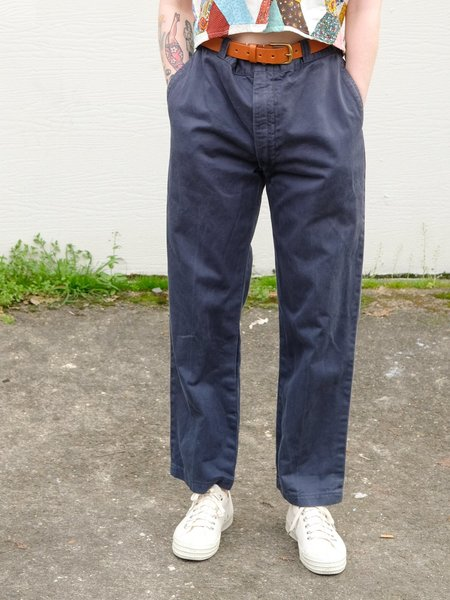 Shop Boswell Vintage 50's Work Pants - Navy
