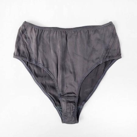 Kent Blam Slate Silk High Waist Panty