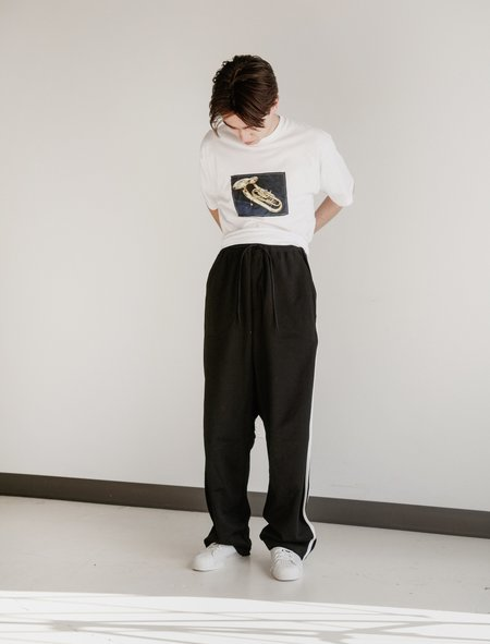 Y-3 3 Stripes Track Pants - Black/Core White