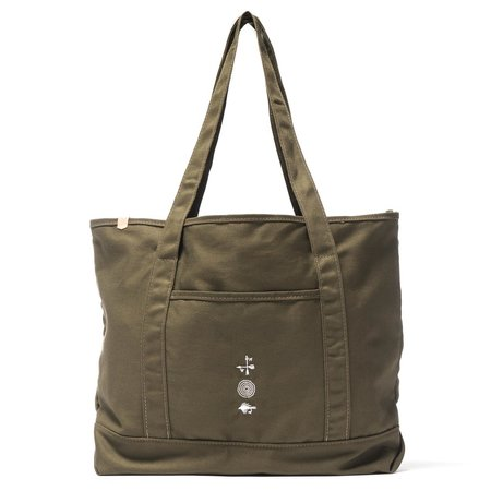 MAPLE Grocery Tote Olive