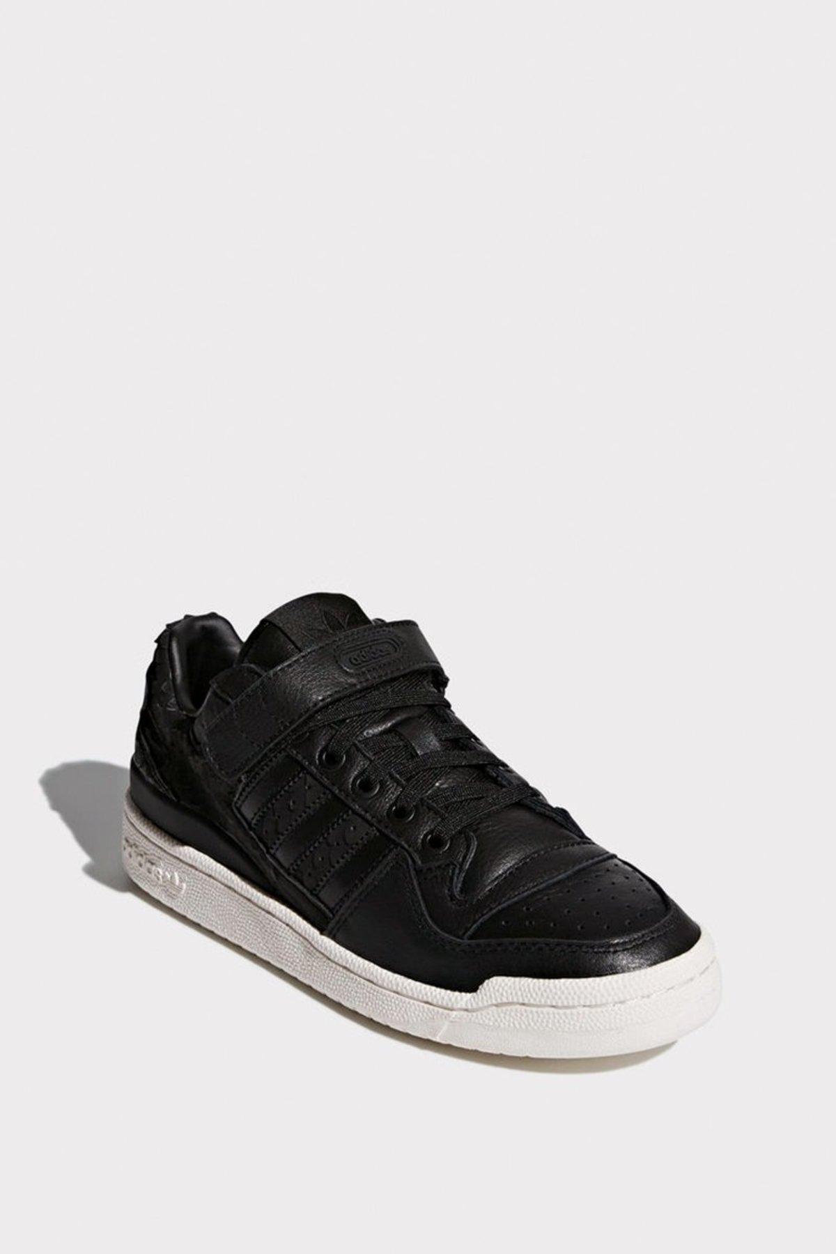 Adidas Originals Womens Forum Low Shoes blackwhite