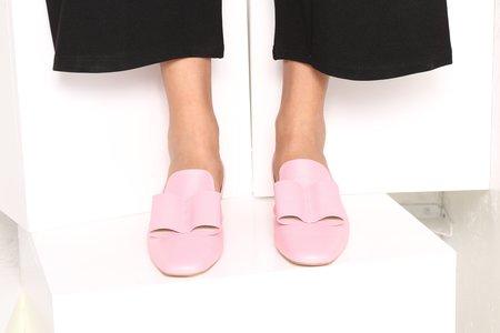 """Intentionally __________."" Coisa Sling Back Sandals - Pink"