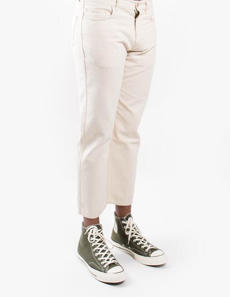 You Must Create Greaser Jeans - Ecru