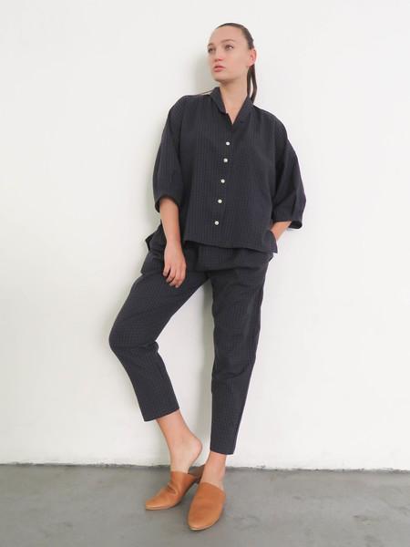 Ilana Kohn Steven Shirt - Navy Stripe
