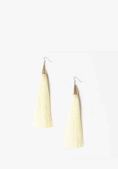long tassel earrings - Yellow & Orange Eddie Borgo yyV9t1jqU