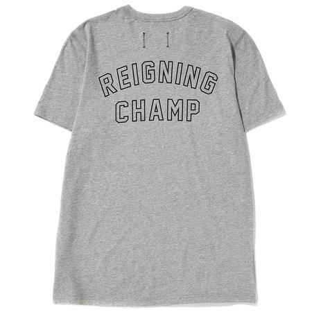 REIGNING CHAMP VARSITY T-SHIRT / GREY