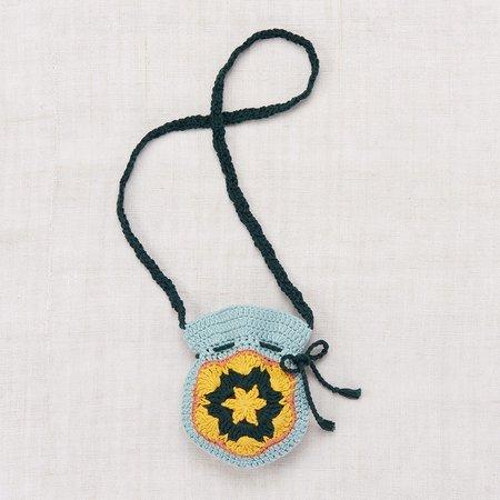 Unisex Kid's Misha & Puff Treasure Pouch - Faded Indigo