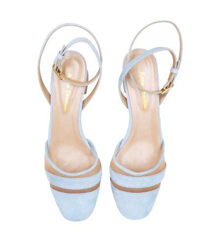 Anne Thomas Cherubino Babylone Heel - Cherubino baby blue