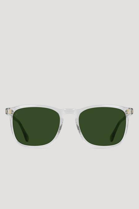 Raen Optics Wiley Sunglasses in Fog Crystal