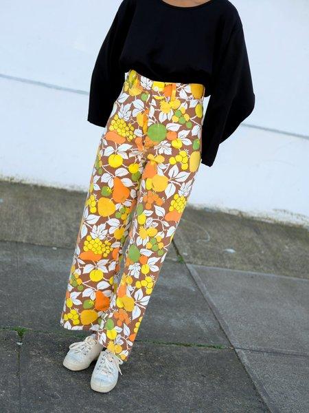 BODE Orange Fruit Pants
