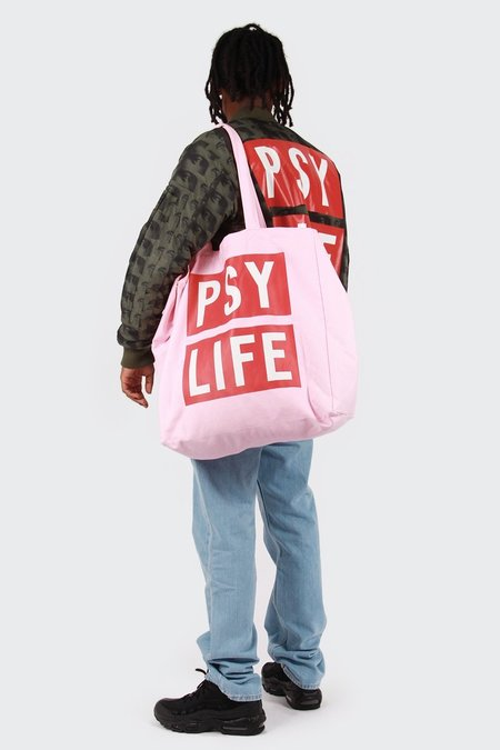 Perks and Mini Psy Life Tote Bag - pink