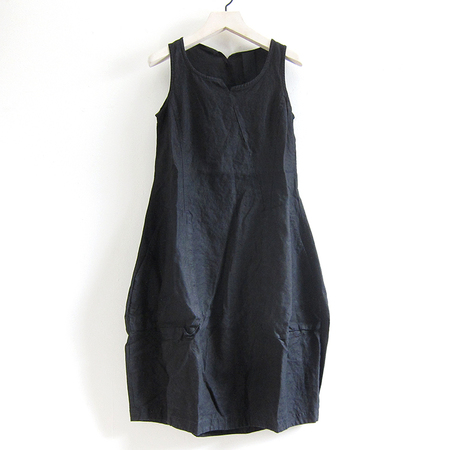 Rundholz Linen Dress - Black