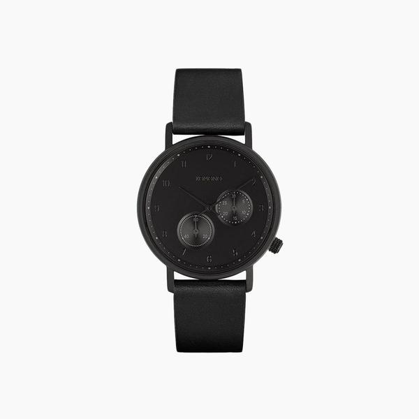 Komono Walther Watch in Raven