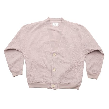 Olderbrother Cardigan - Pink Hibiscus