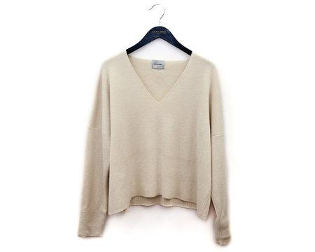 Rachel Comey Fount Sweater in Ivory Double Knit