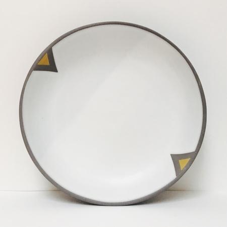 Wolf Ceramics Ochre Geometric Series