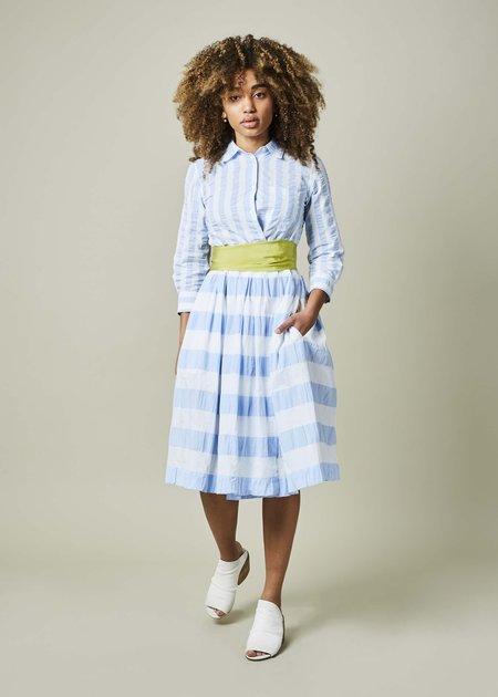 Sara Roka Elenat Striped Dress
