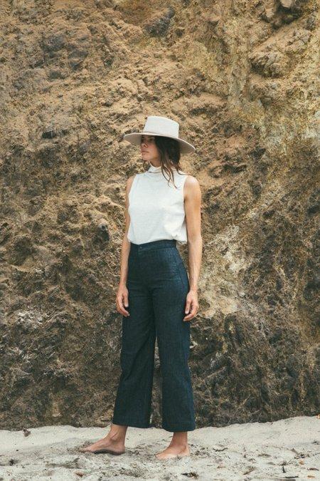 Ozma High Neck Tank - Cotton/Wool/Jersey