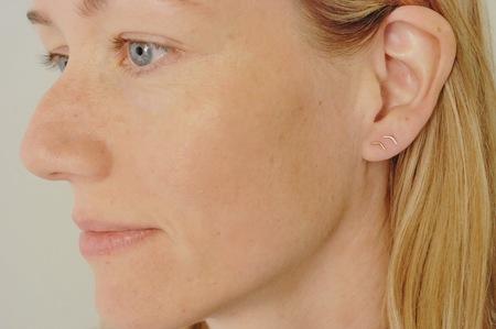 Rachel Gunnard 14k Gold Down Earrings