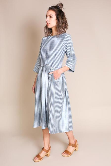 Ace & Jig Sage Dress in Starboard