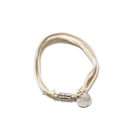 MAPLE Suede Multi Wrap Bracelet - Natural