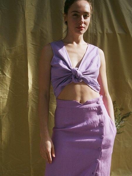 Ajaie Alaie The Vestest Top - Lavender