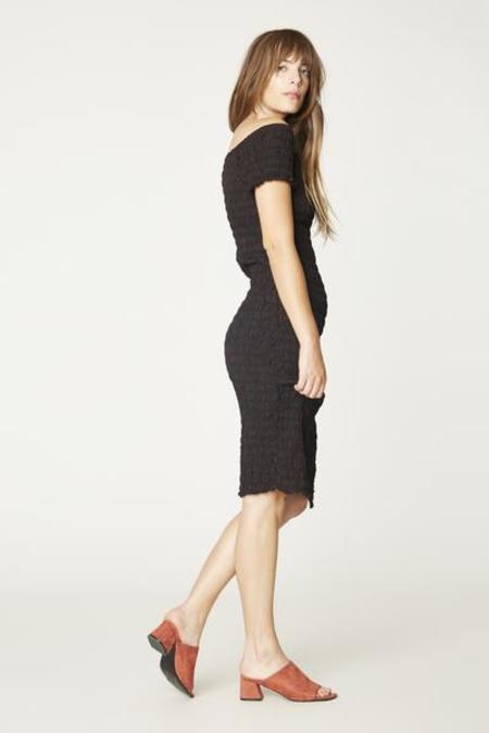 Lacausa Smocked Dress - Tar