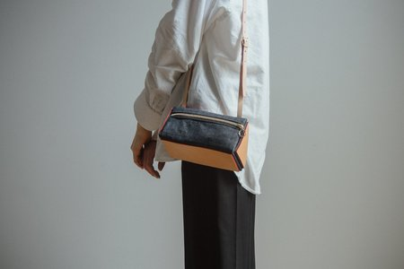 Julia Gabriel Studio Denim Triangle Bag