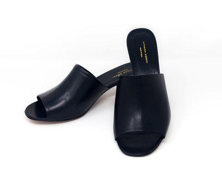 Liviana Conti Silver Heel Slides