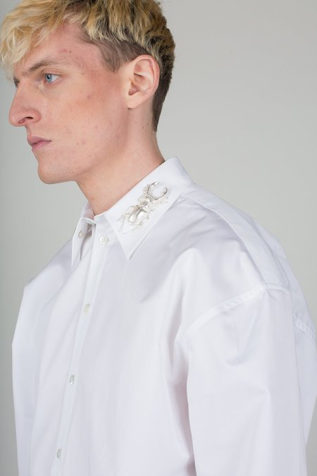 Unisex Y/project Insect Collar Shirt
