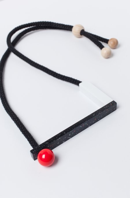 One We Made Earlier Sol Red Necklace