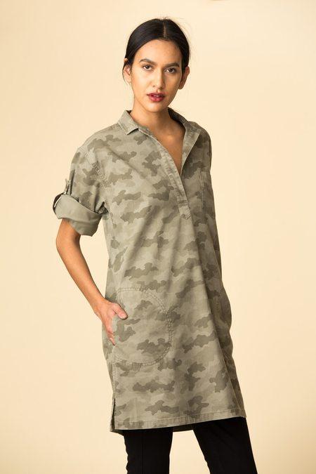 ATM Stretch Pullover Shirtdress
